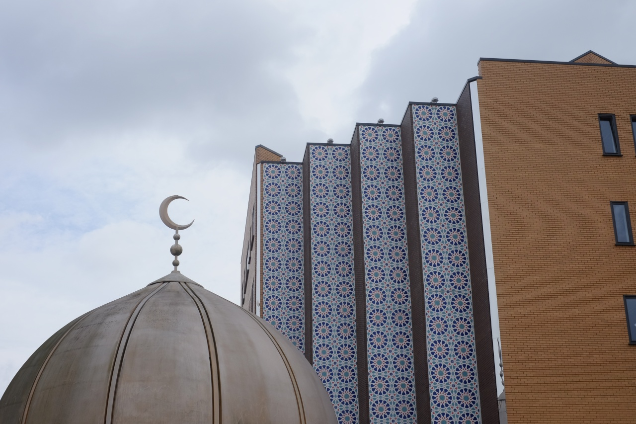 Located next to Haji Taslim's, the East London Mosque is the largest in the UK, attracting around 7,000 people for Friday prayers.