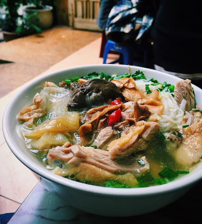 Bún ngan. (Photo by My Pham)