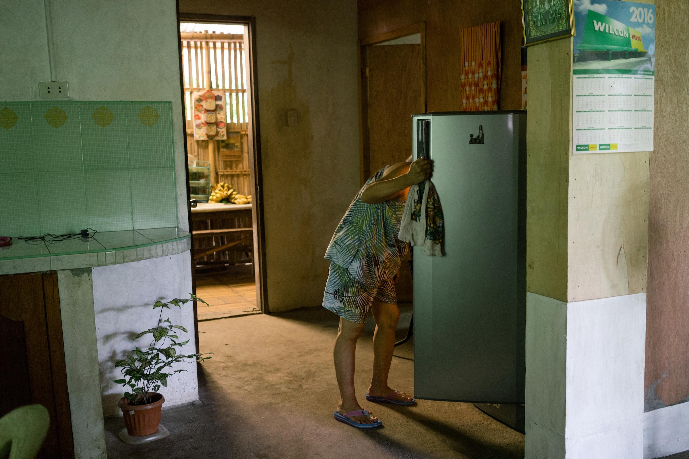 Cecilia Nillasca at home.