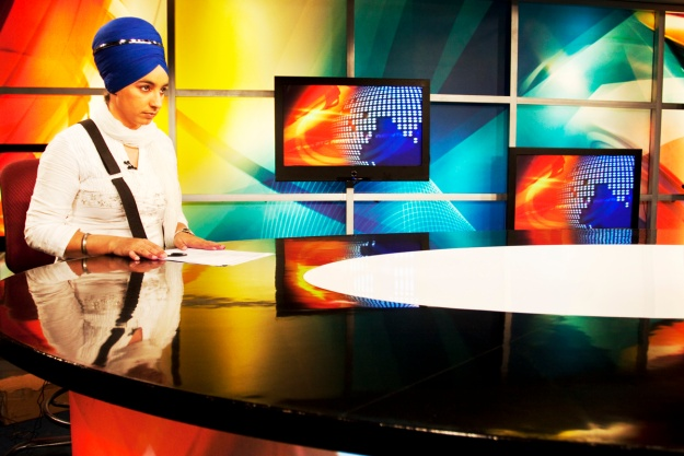 """1. """"I have had a love affair with the turban since childhood. My greatest opportunity came when I got a chance to work at a media platform. The TV channel was initially skeptical about a turbaned woman anchoring a show. However, I was lucky when one day the regular anchor was late and I got the opportunity to host. The overwhelming response to the show made them rethink, and I was allocated a weekly show on television."""" / 2. """"The only reason for me to become an actor is because I believe there is a need for the world to see what an actual Sikh looks like, since the Indian film and television industry has misrepresented and abused the Sikh identity."""""""