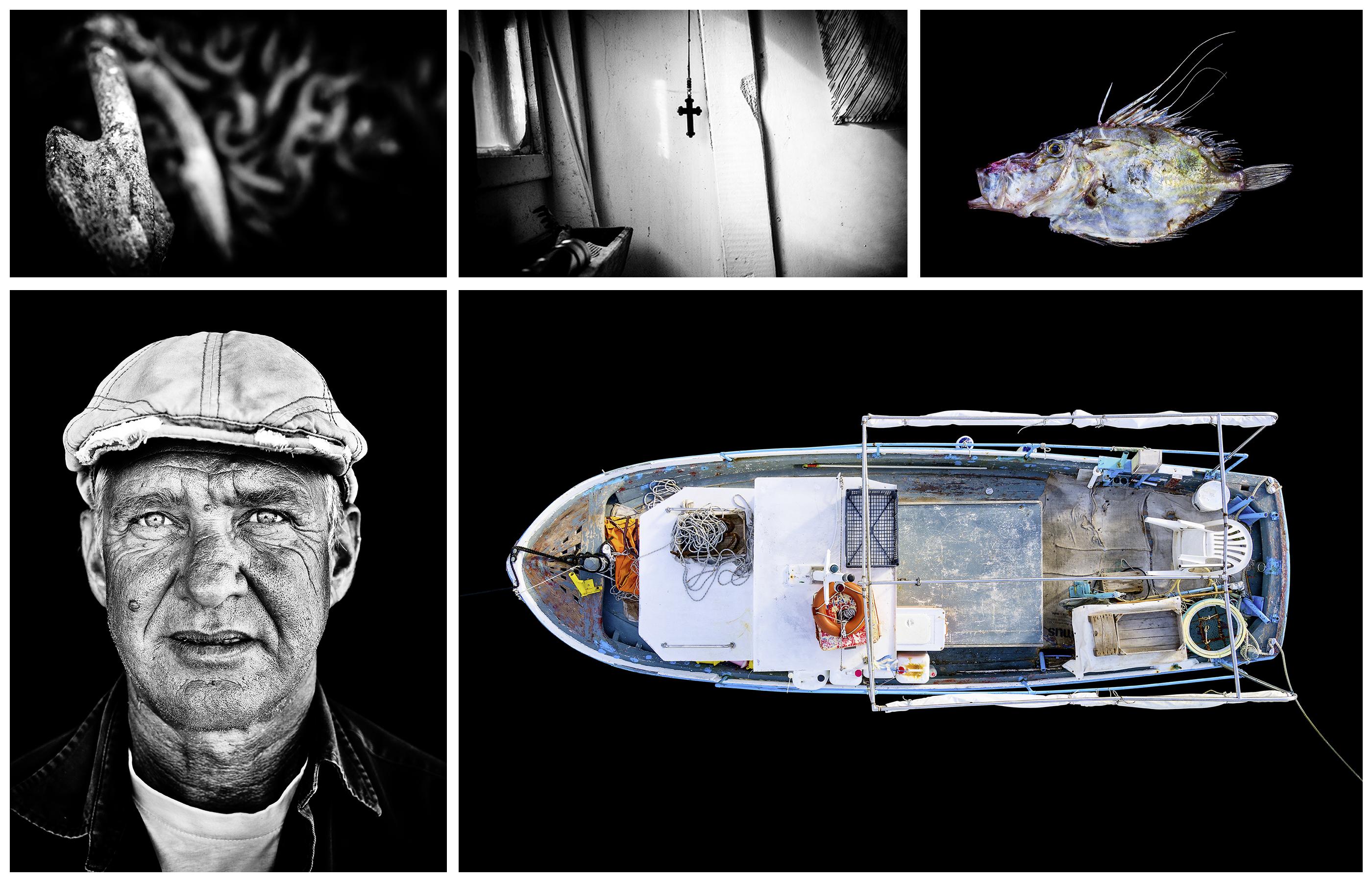 Kostantinos Stratis. Born: 1961. Boat Name: Annaki. Location: Pounda/Paros.