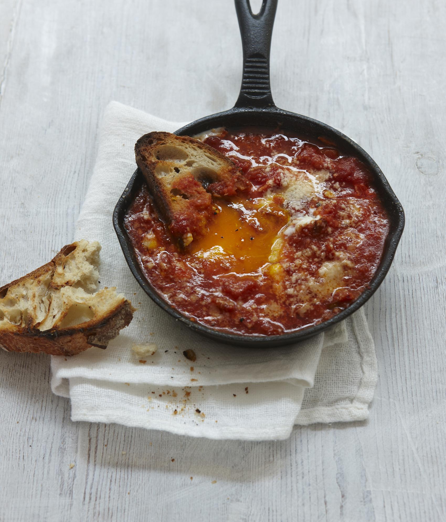 Recipe: Eggs in Purgatory