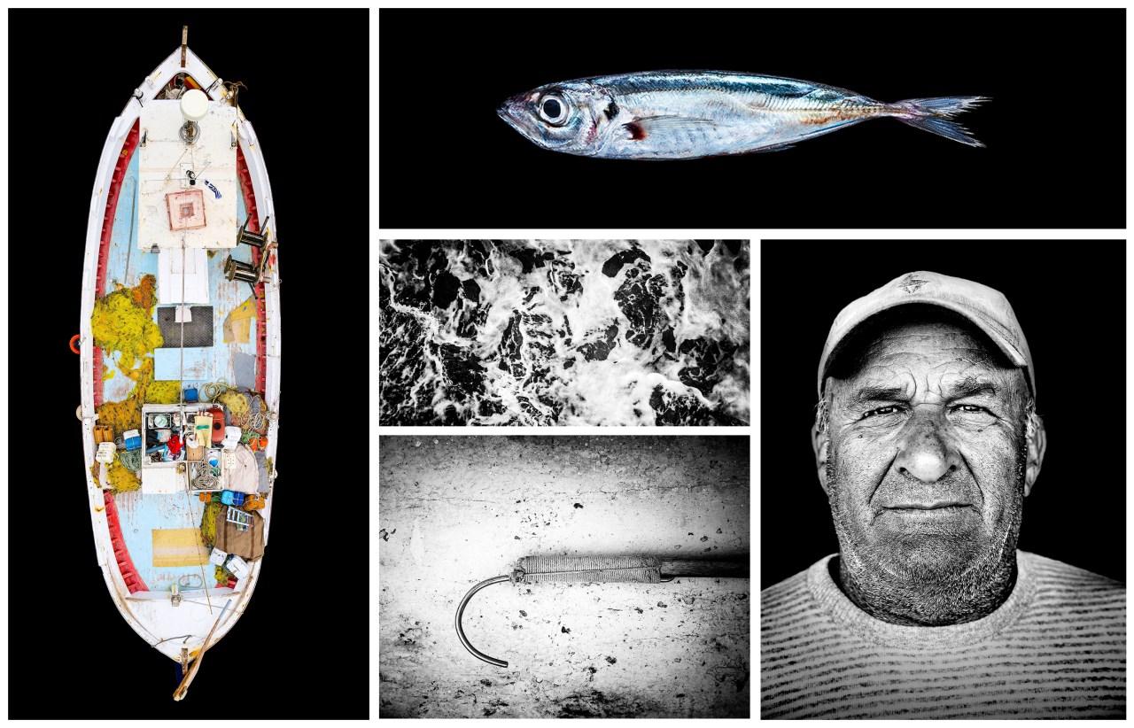 Name: Nikitas Malamatenios. Born: 1957. Boat Name: Panagia. Location: Naoussa Paros.