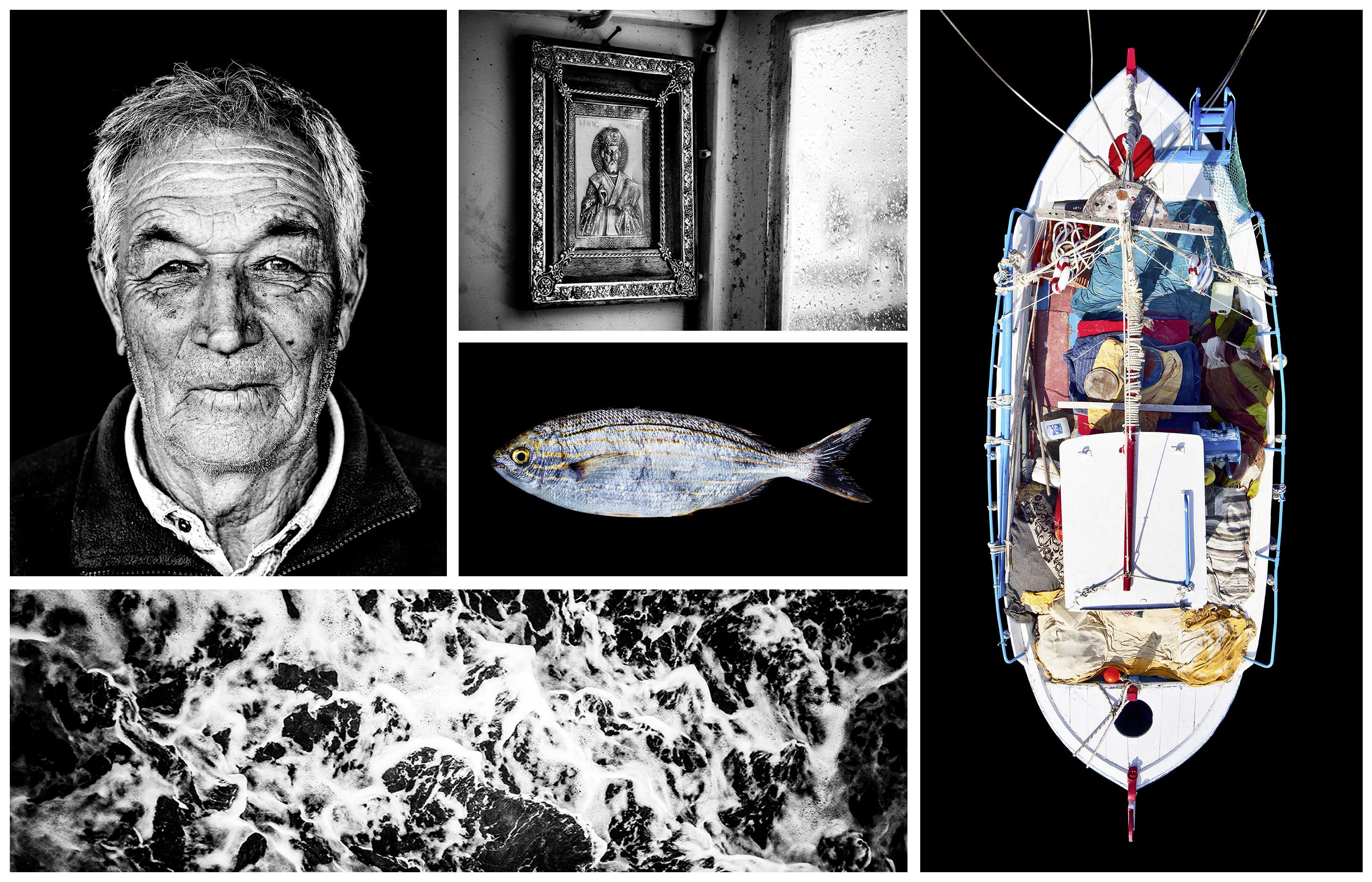Name: Filippas Tsantanis. Born: 1944. Boat Name: Ilias Maria. Location: Parikia/Paros.