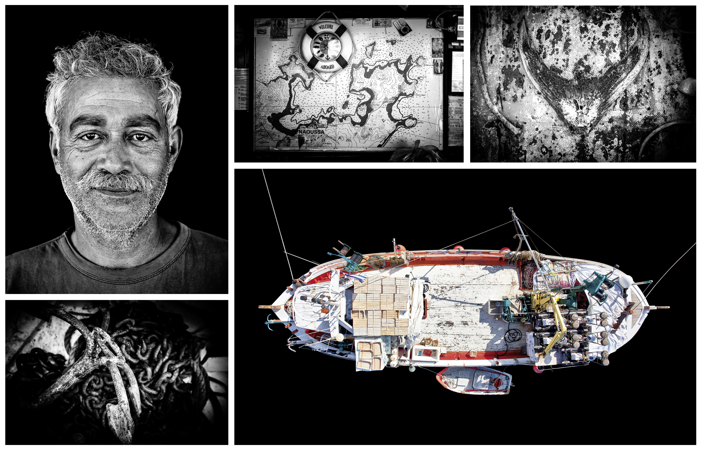 Name: Panayiotis Visadakis. Born: 1953. Boat Name: Ypapanti. Location: Naoussa/Paros.
