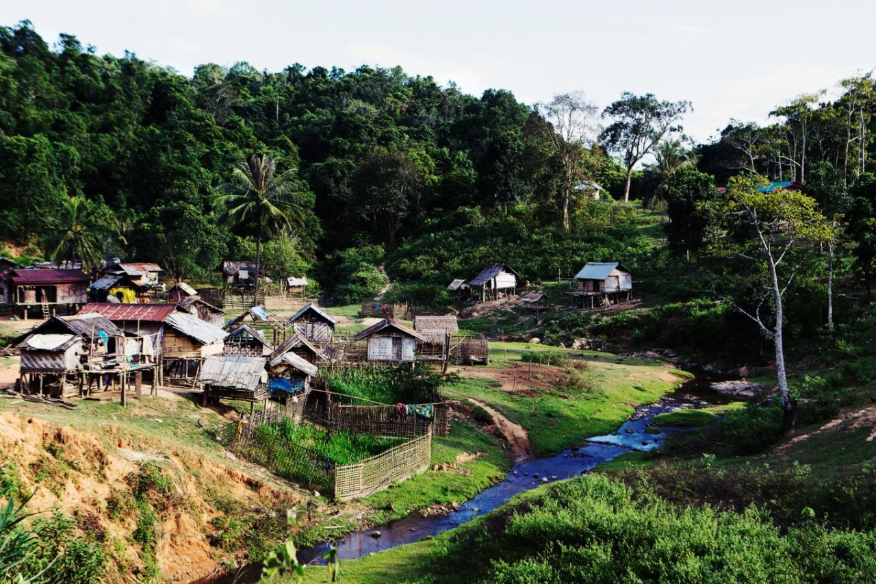 A village in Laos.