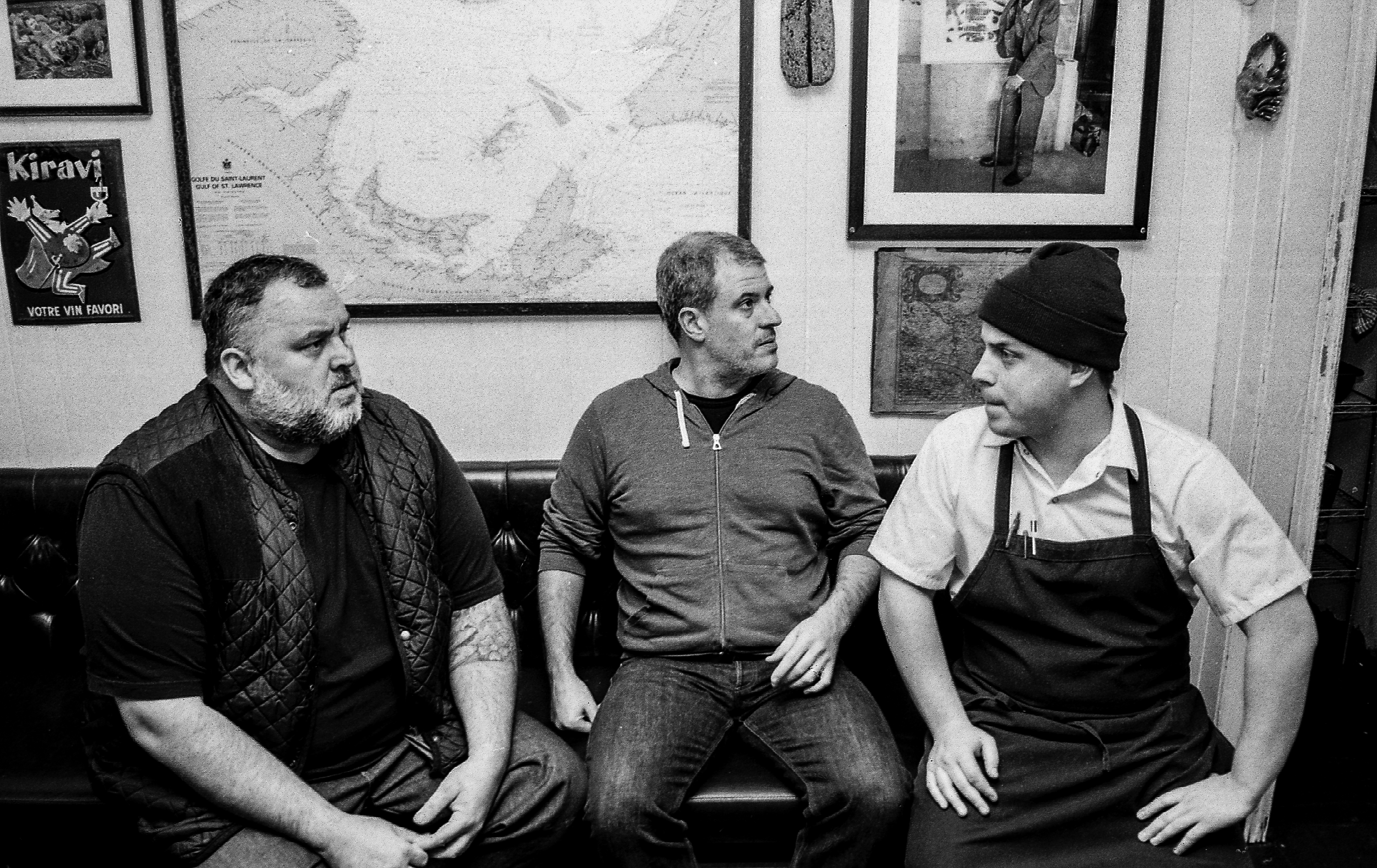 L to R: David McMillan, Fred Morin, and Marc-Olivier Frappier (Photo by Vin Papillon)