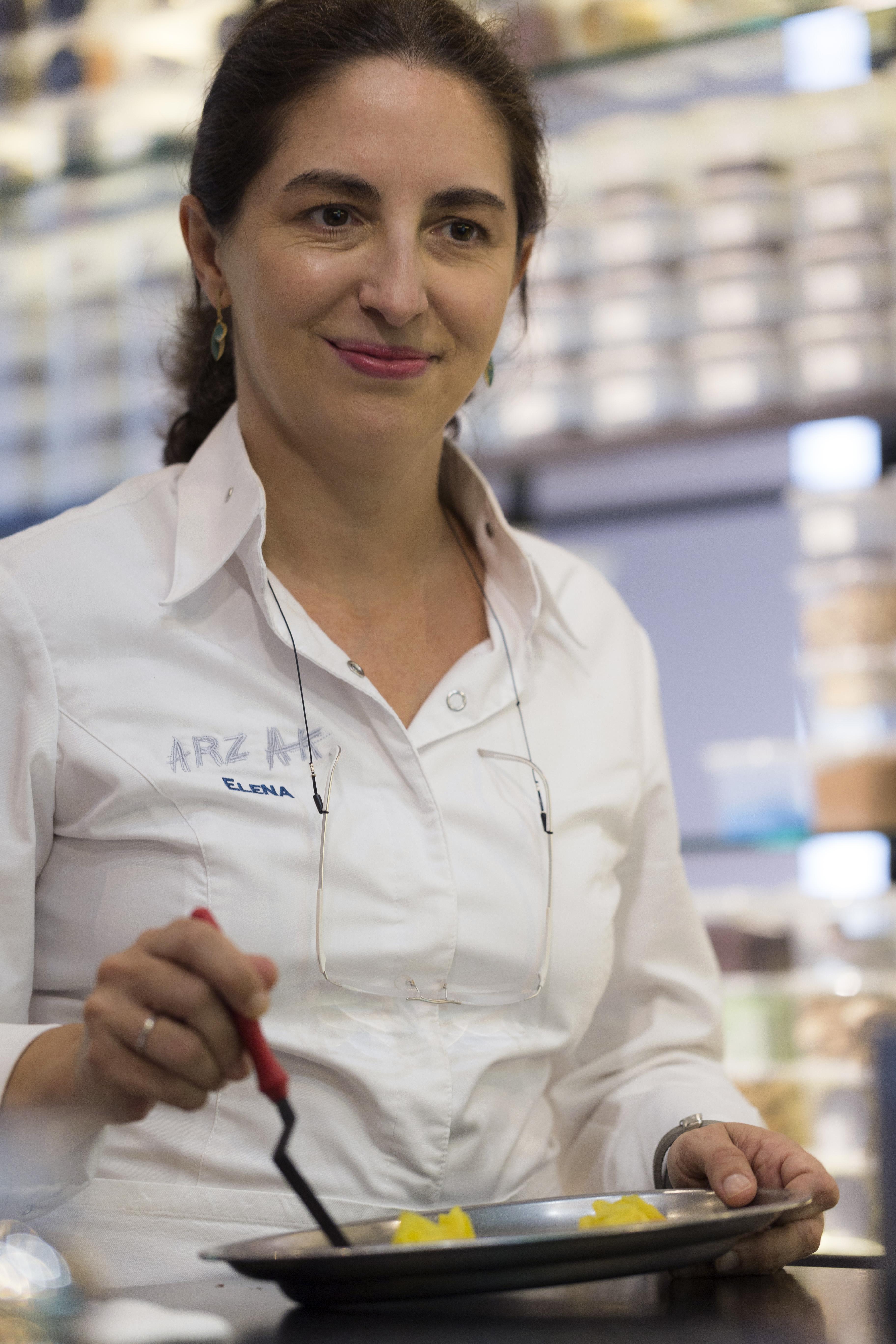 Chef Elena Arzak.