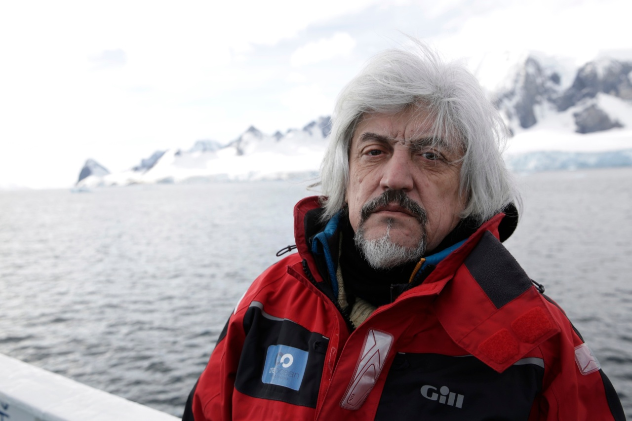 Alexander Ponomarev, 60, the founder and commissioner of the Antarctic Biennale, worked as a sailor and submariner before dedicating himself to contemporary art.