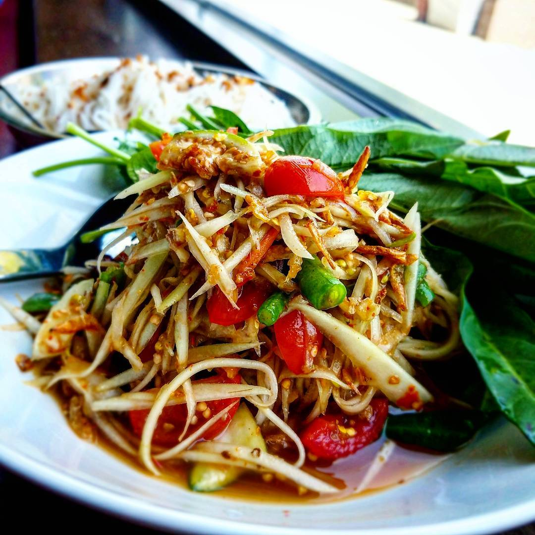 Papaya Salad. (Photo by Chef Seng)