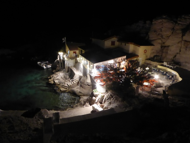La Baie des Singes at night. (Photo by Jill Pope)