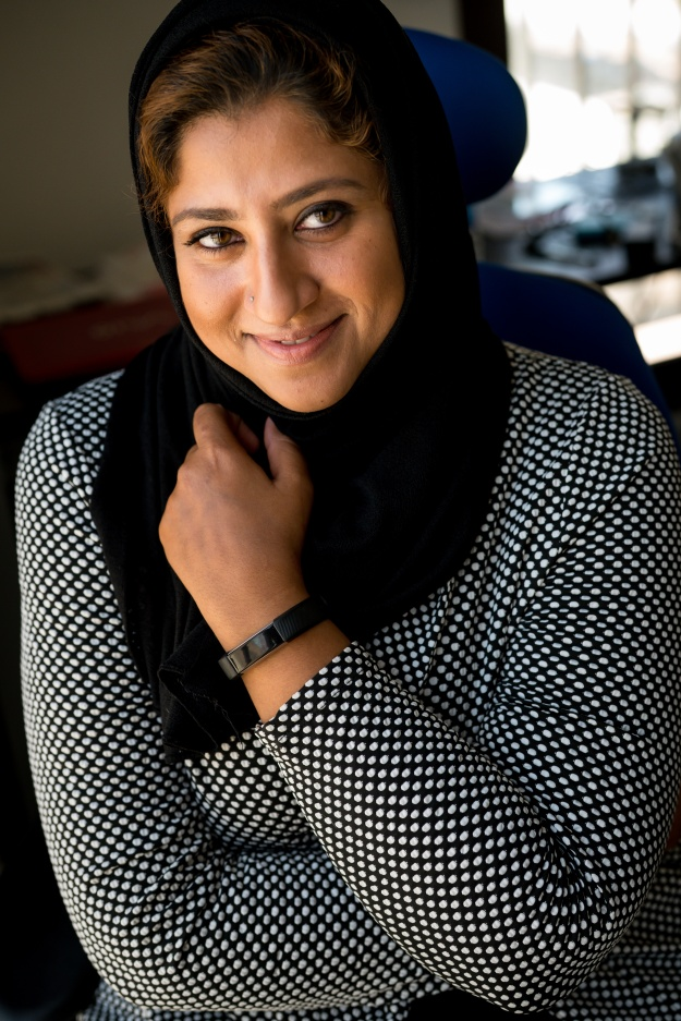1. Amaal Almoosawi, a jewelry designer, working at her home studio on pieces for her next collection. / 2. Baida Alzadjali is the first Omani woman to open a project management consultancy in the country. She launched her company with her sister in 2016, after some men wouldn't allow them to visit sites they managed as engineers.
