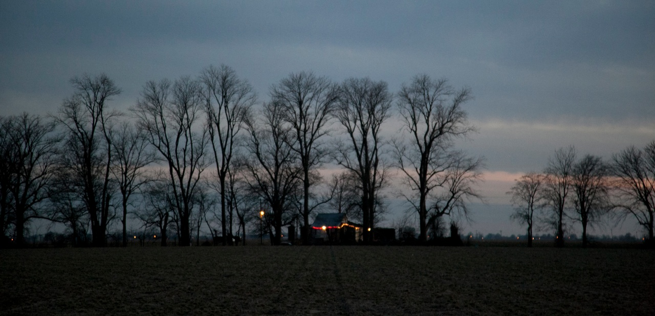 Po Monkey's Lounge sits in a cornfield near Merigold, MS.