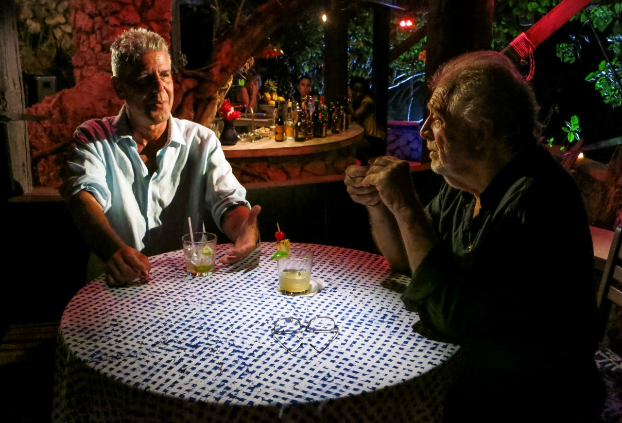 Bourdain sits down with Chris Blackwell.
