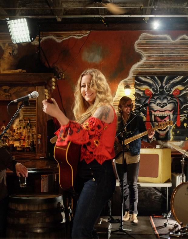 Margo Price performs at Third Man Records.