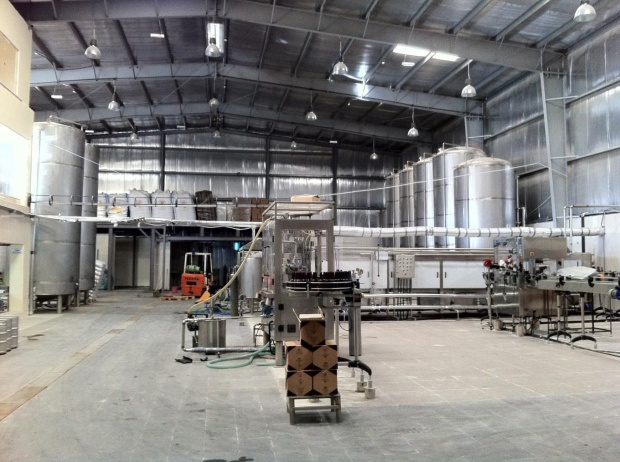 Breweries in the Middle East like Carakale in Fuhays, Jordan get their ingredients and most of their equipment from abroad because they have no local sources. (Photo courtesy of Carakale)