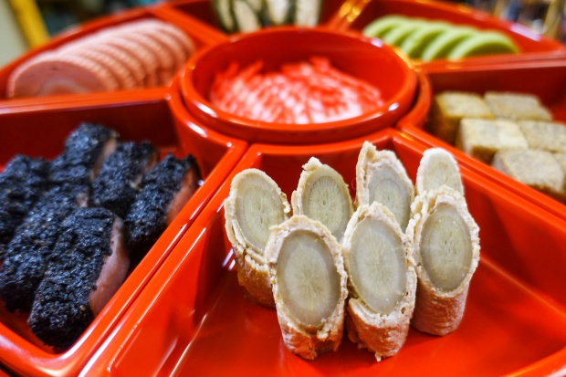 Tundaabun: several small dishes that were served to royals and VIPs during the era of the Ryukyu Kingdom.