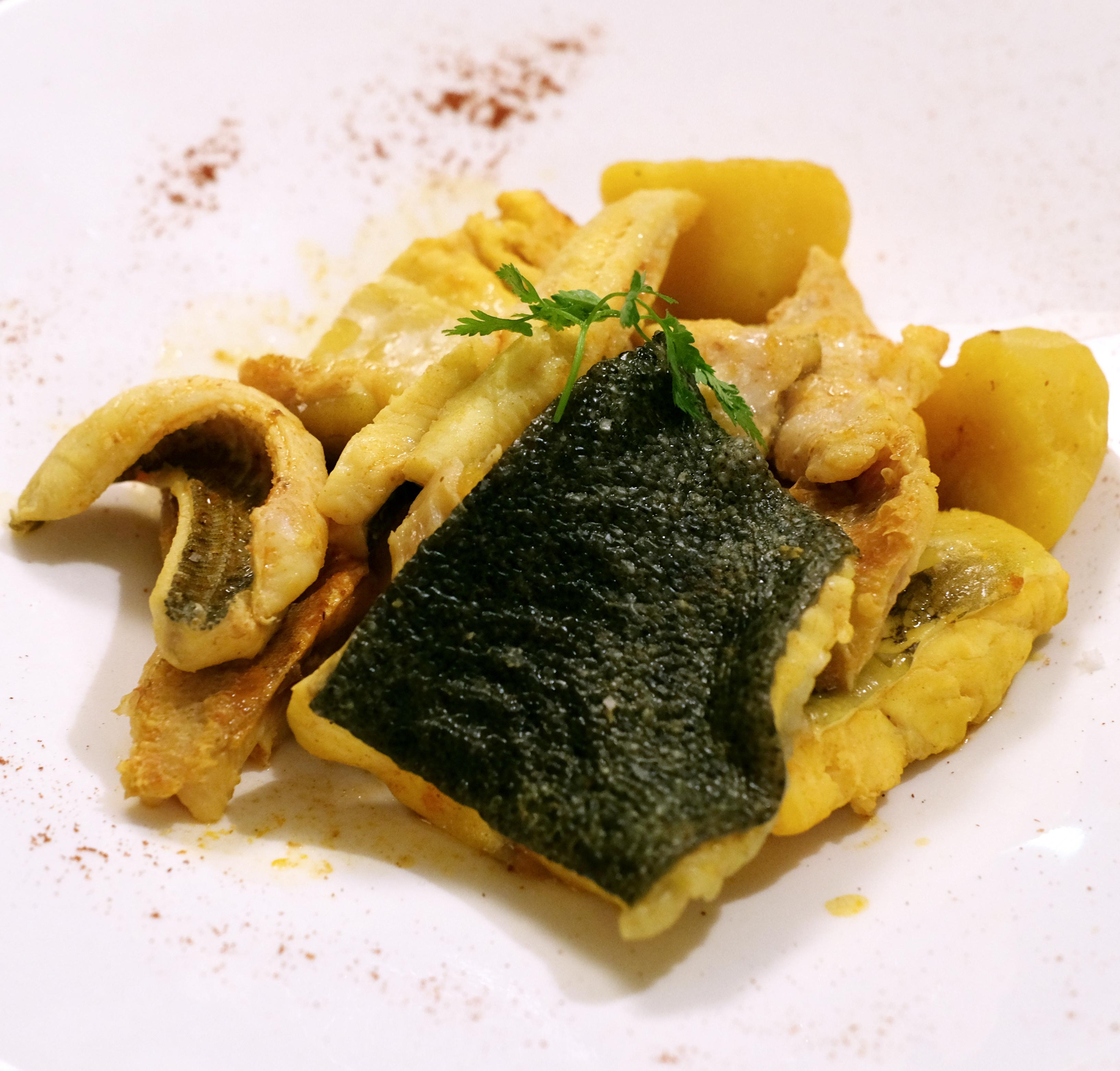 Bouillabaisse served at Chez Fonfon.