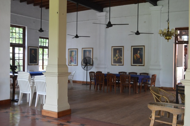 One of the halls of the Dutch Burgher Union.