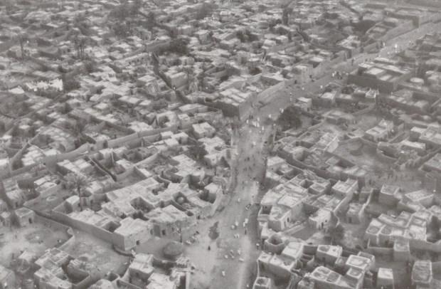 The city of Kano, c. 1930. (Photo by Walter Mittelholzer via Wikimedia Commons)