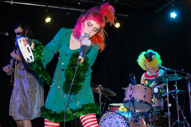 Tacocat performs at Chop Suey on October 31.