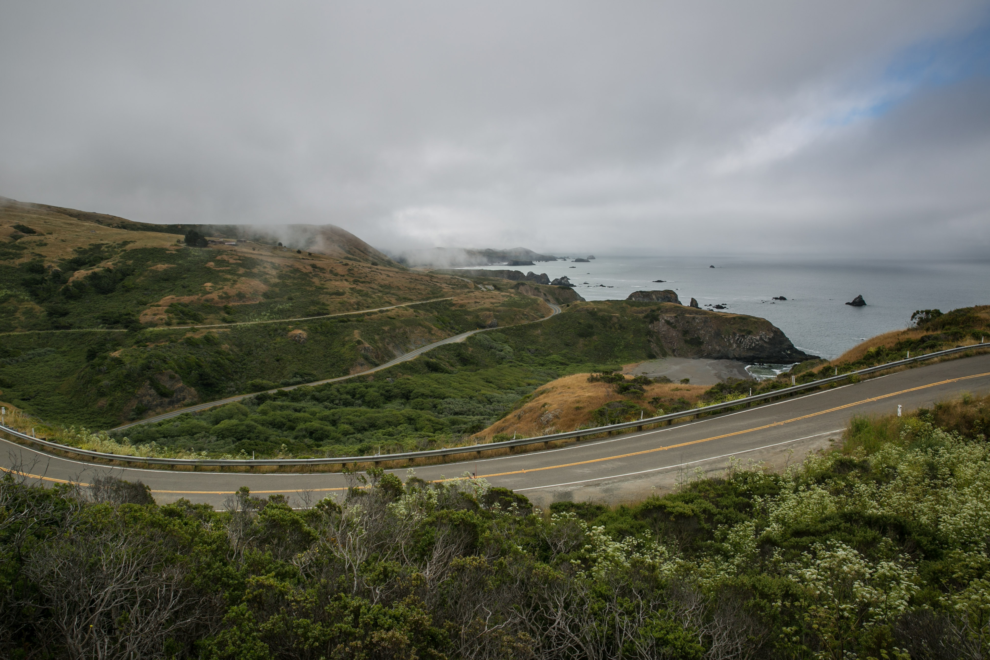Highway 1 near Bodega Bay. (Photo by George Rose via Getty Images)
