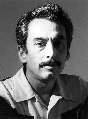 San Francisco's first Latino poet leaureate. (Photo by A. Morales)