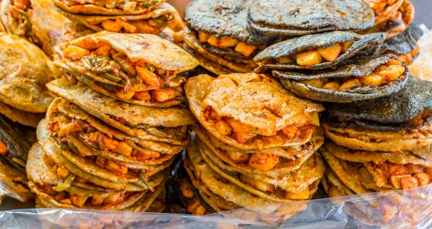 Gorditas. (Photo by Alexcrab via Getty Images)