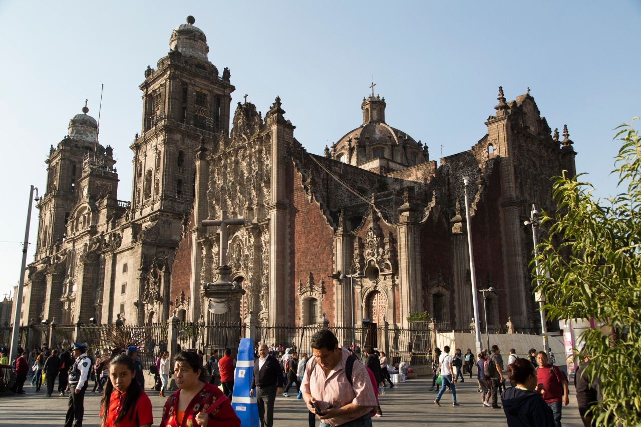 The Metropolitan Cathedral of the Assumption of the Most Blessed Virgin Mary into Heaven—the largest cathedral in the Americas