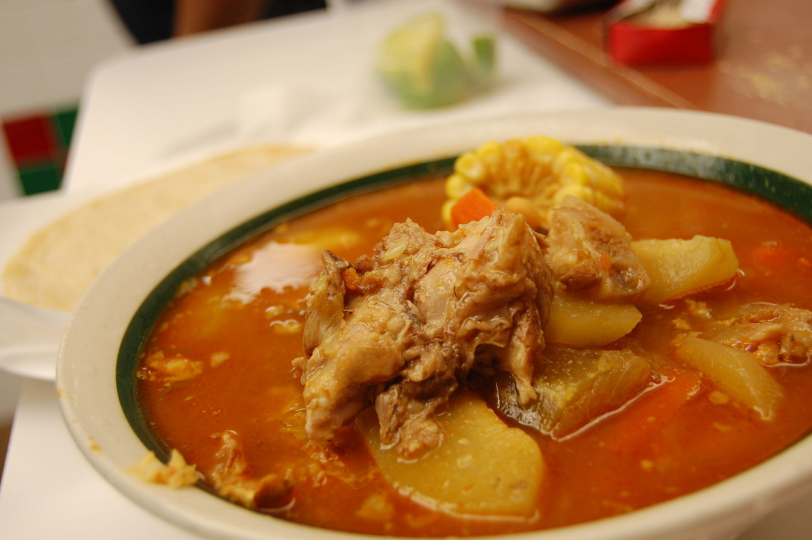 Mole de Olla. (Photo by stu_spivack via Wikimedia Commons)