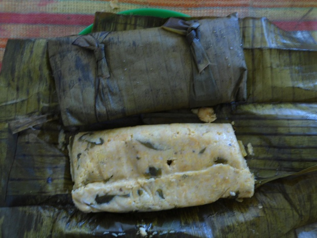 Tamal de Chipilín. (Photo by Alfonsobouchot via Wikimedia Commons)