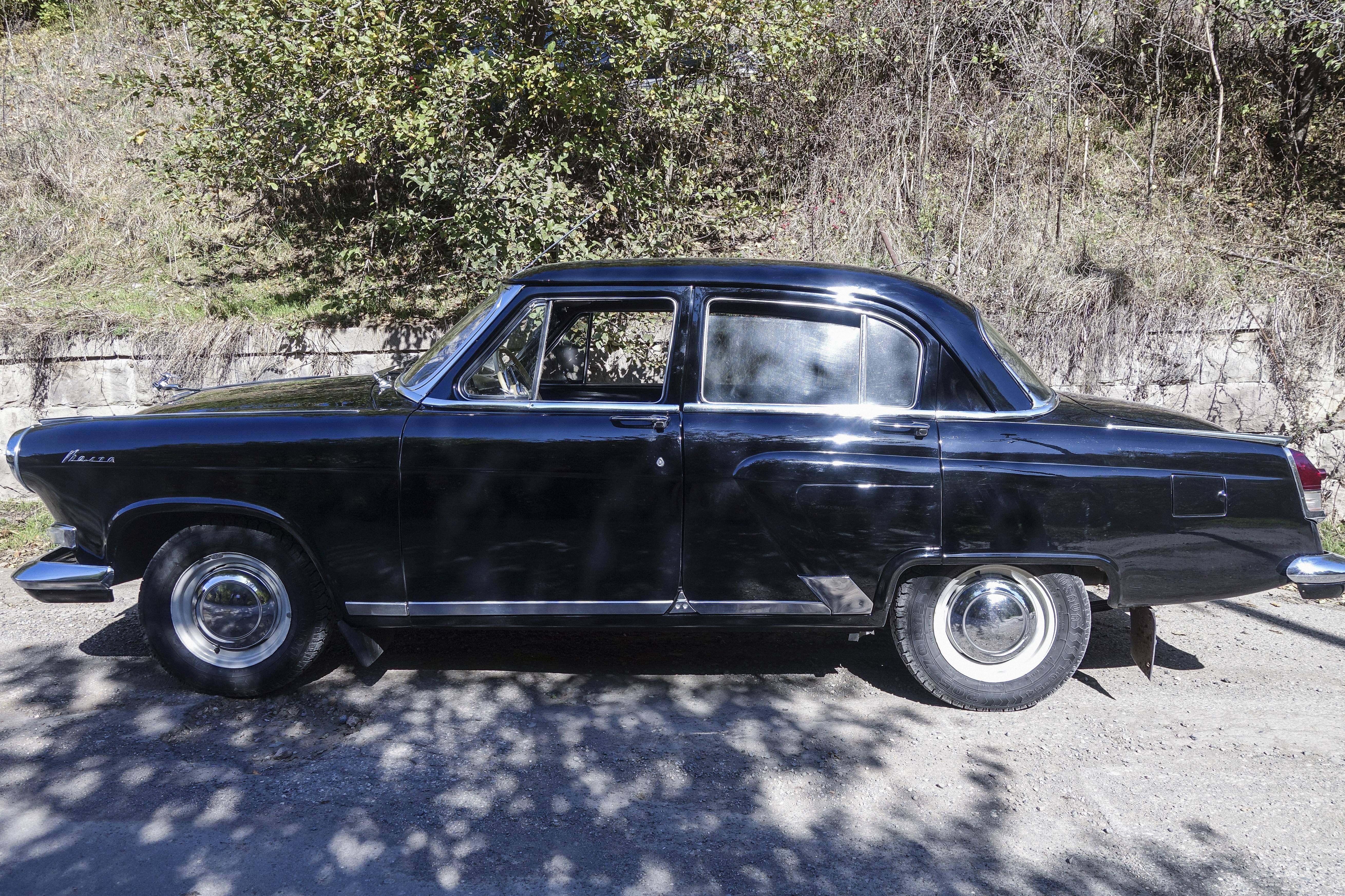 A classic Russian 1960s Volga.