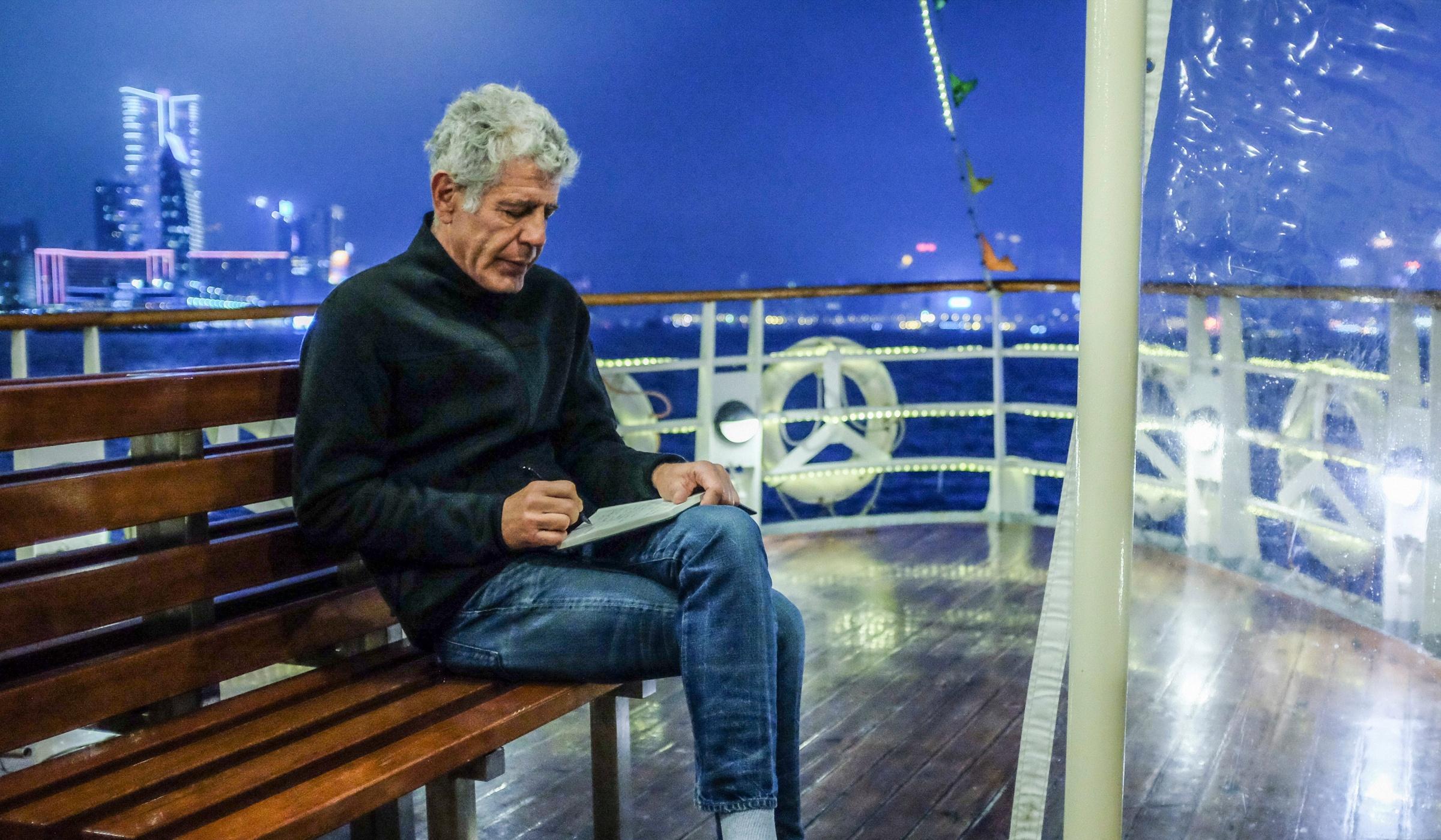 Bourdain, off the cuff: Hong Kong