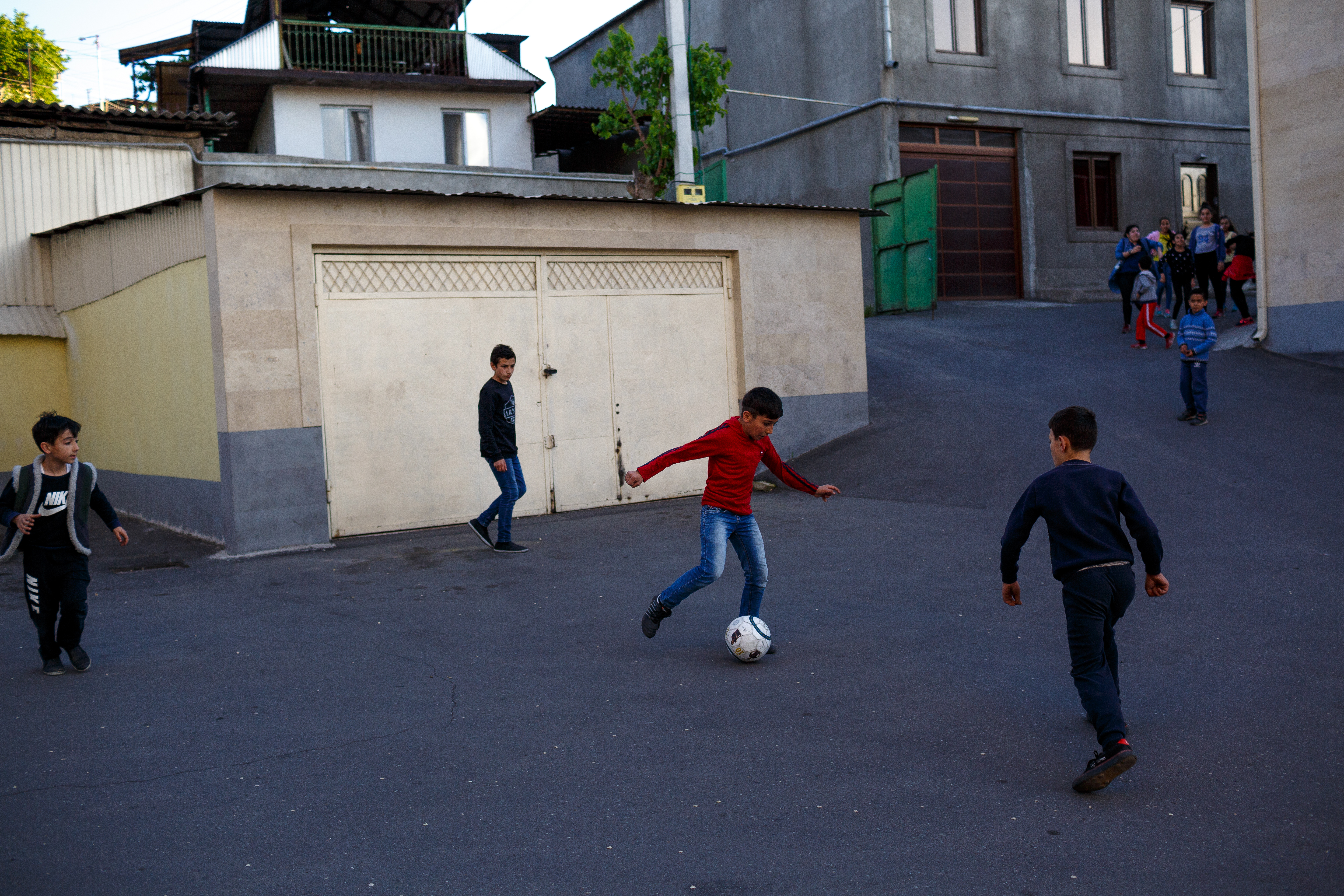 Armenia is seeing widening disparities in wealth and income. Photos by Hossein Fatemi.
