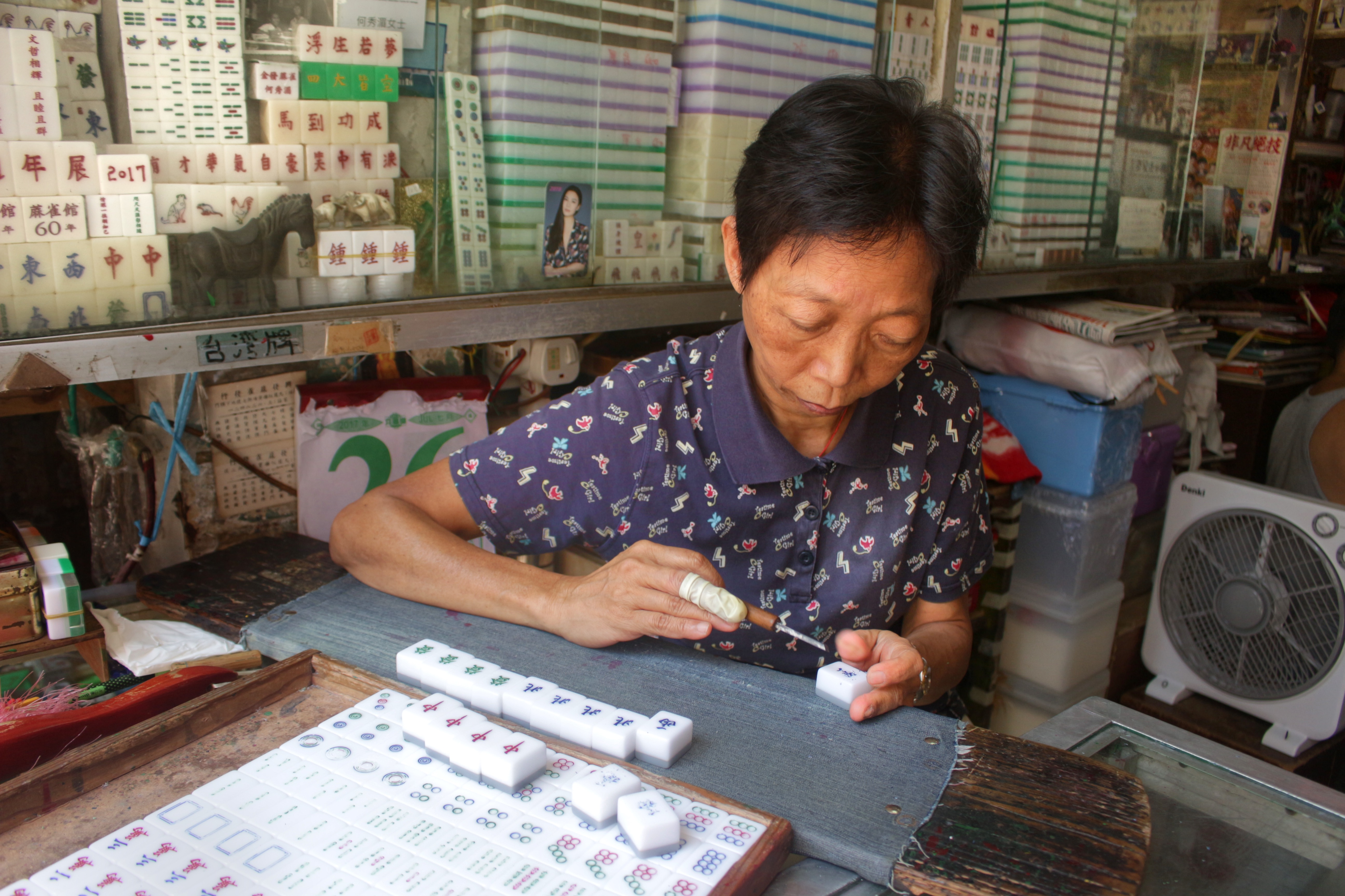 Meet the woman who is preserving the age-old craft of tile carving in Hong Kong