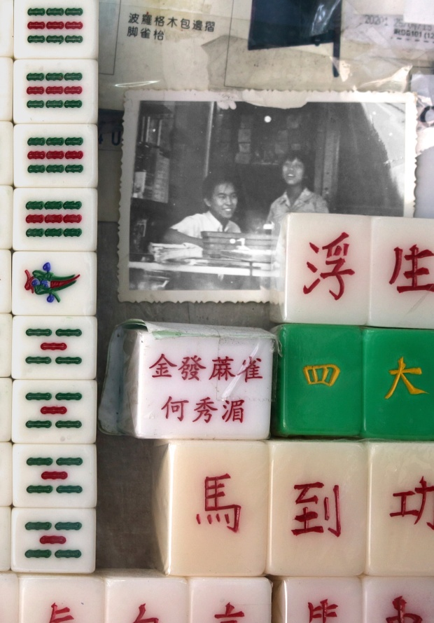 Ho Sau-mei is Hong Kong's last female mahjong tile carver