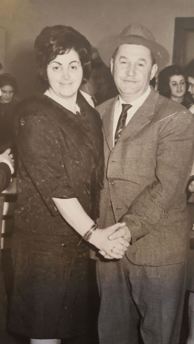 Pincus Gottesman and and his wife, Ela.