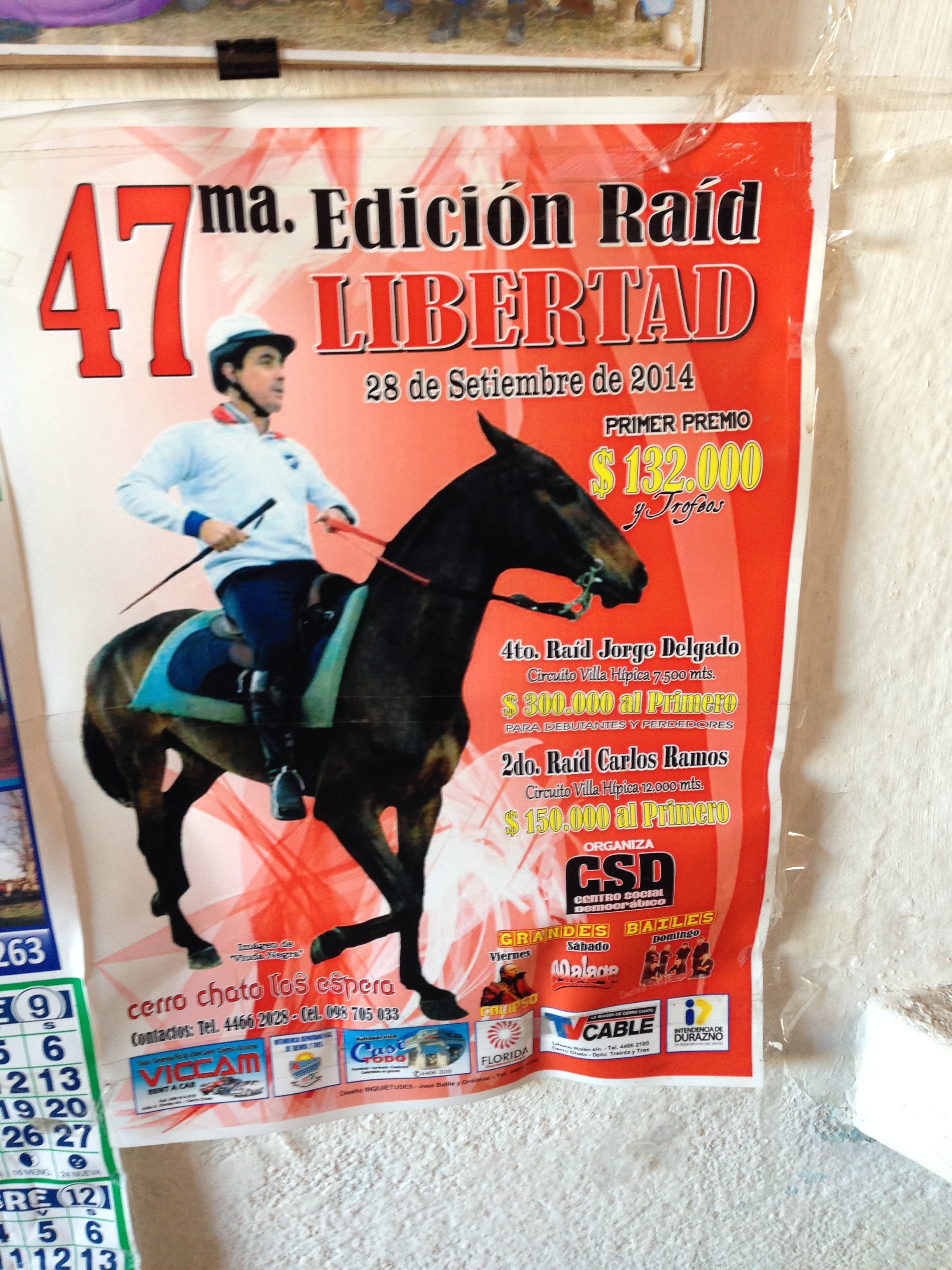 A poster for the September 28th raid in 2014.