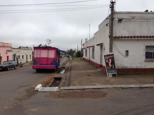 The Centro Obrero Tupambaé just off Ruta 7.