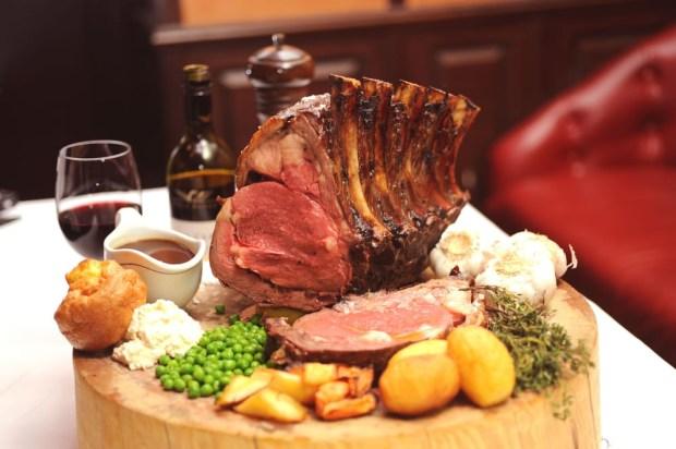 Sunday roast. Photo by Jimmy's Kitchen Central via Yelp.