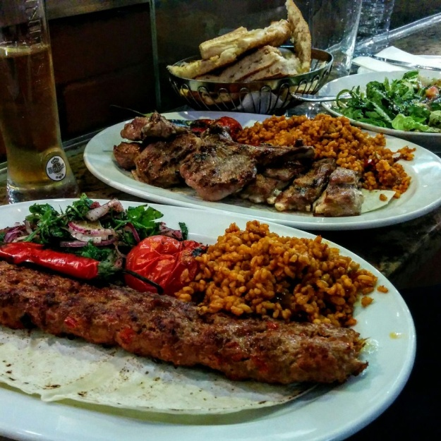Adana Grillhaus in Manteuffelstrasse. 1. Photo by Kim H. via Yelp. 2. Photo by business owner via Yelp.
