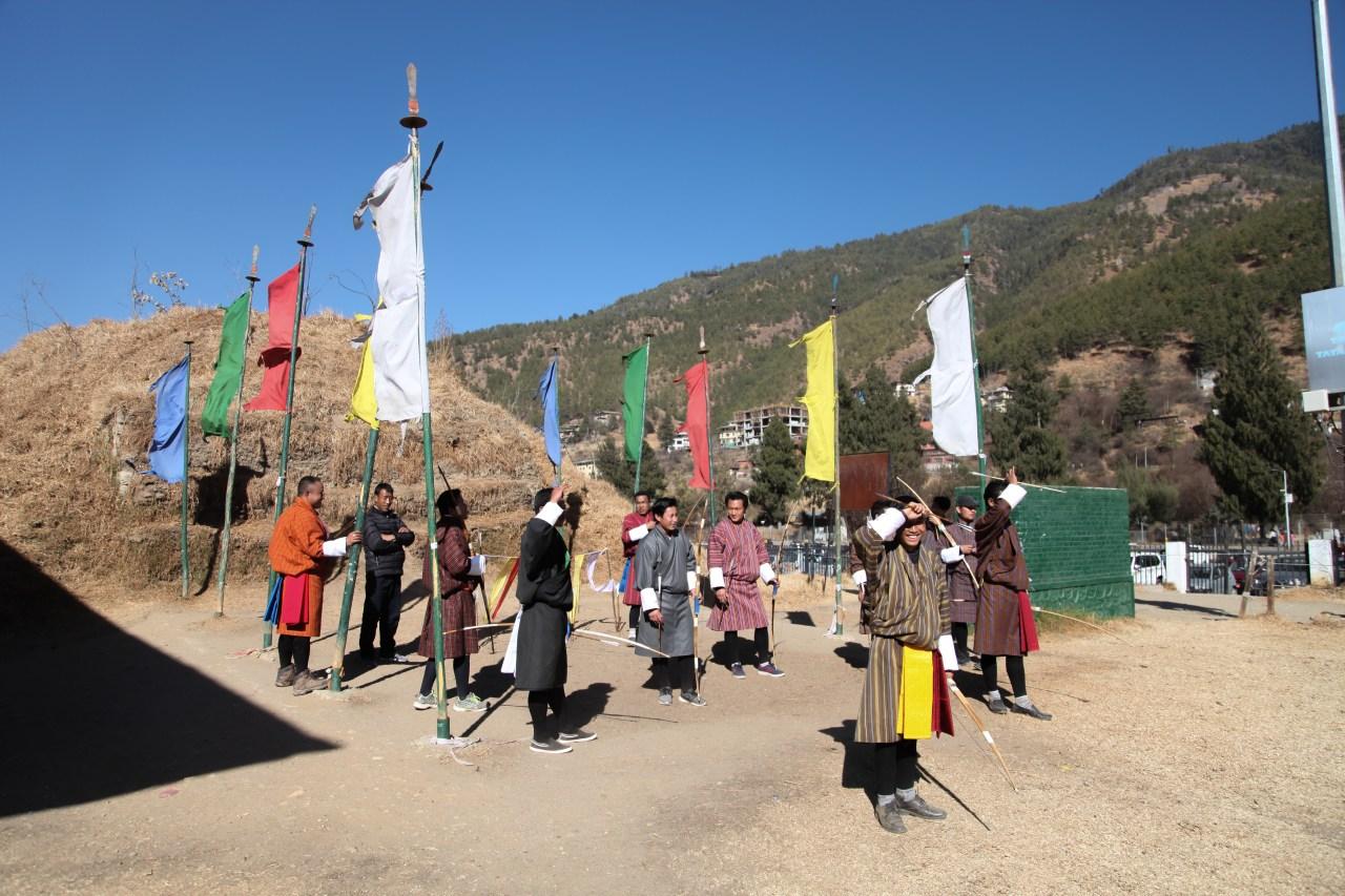 Bhutan's archery leagues: A photo essay