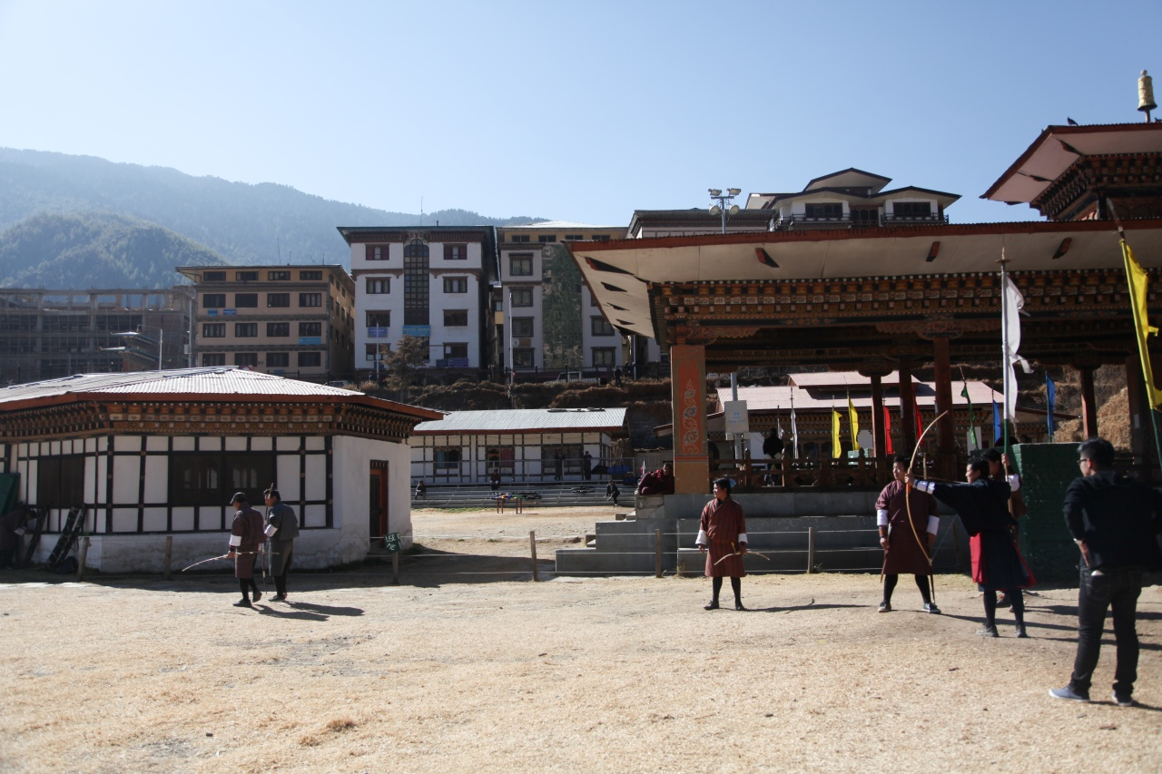 Bhutan's archery leagues: A photo essay