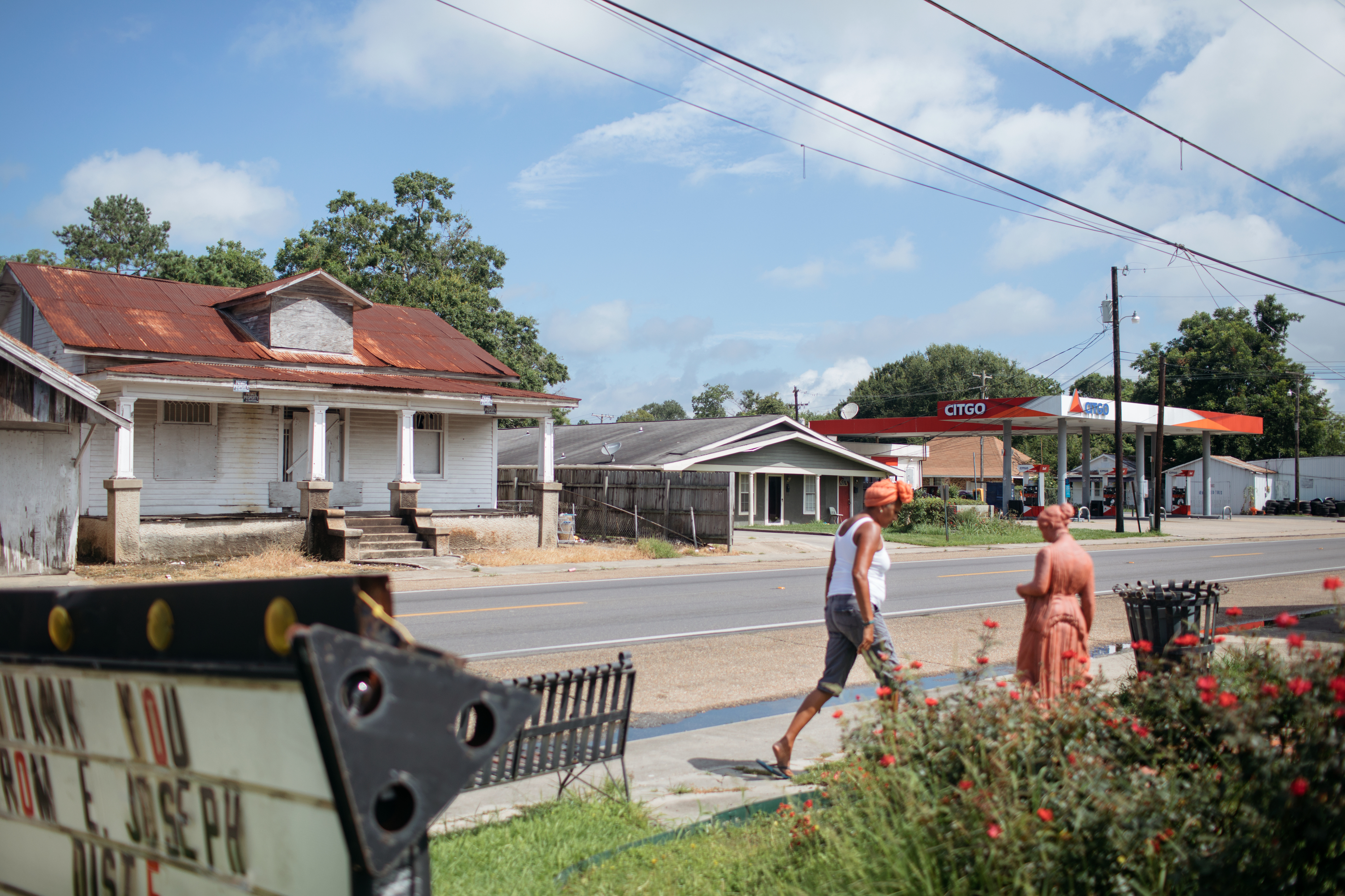 St. Martinville, Louisiana. Photos by Annie Flanagan/Washington Post via Getty Images.