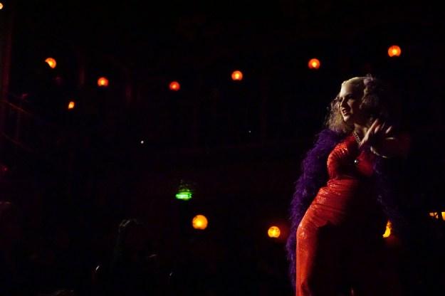 Burlesque performer Lolita Va Voom. Photos by Dan Livingston.