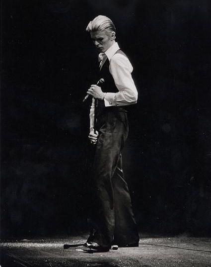 David Bowie's Thin White Duke era. Photo courtesy of Wikimedia Commons.