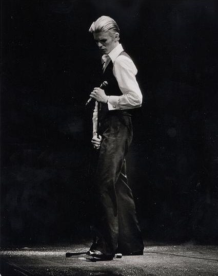 David Bowie's Thin White Duke era. Photo courtesy of Wikimedia Commons.