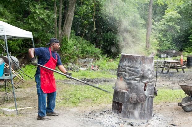 Barbecue pitmaster Rodney Scott.