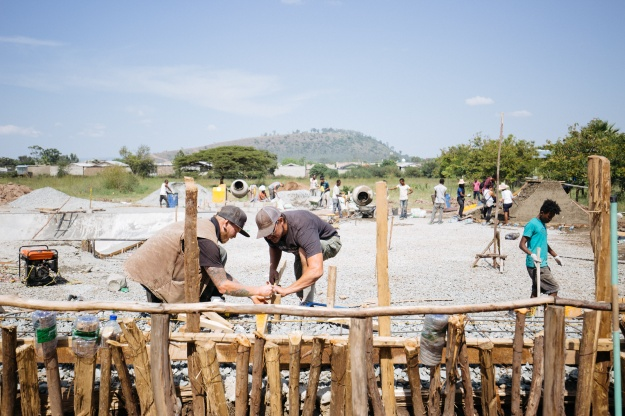 In 2017 Ethiopia Skate collaborated with volunteers to build Hawassa Skatepark.