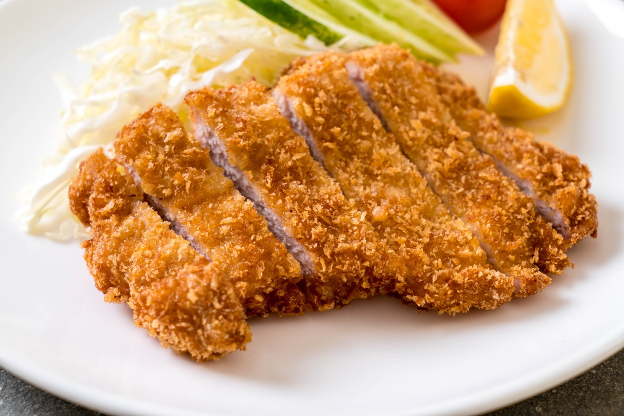 Fried pork cutlet (tonkatsu). Photo by gowithstock / Shutterstock.com